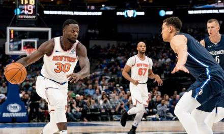 Kristaps Porzingis Returns to the Garden in Knicks, Mavs Clash
