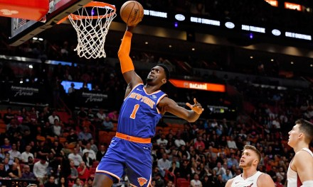 Knicks Players Grateful Crushing Heat Loss Is Behind Them
