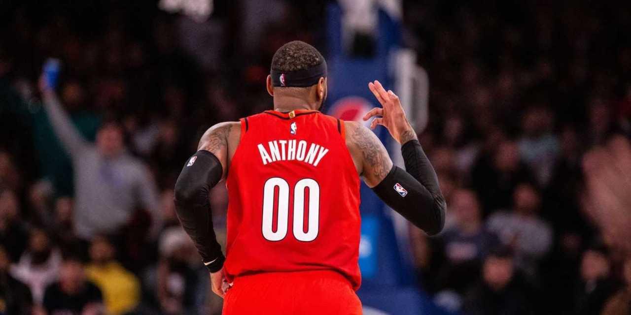 Carmelo Anthony Returns to Appreciative Madison Square Garden Crowd