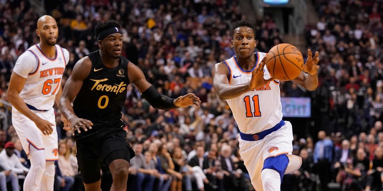 Knicks Look to Halt Raptors' Five-Game Winning Streak
