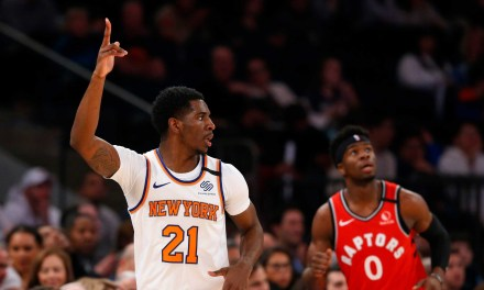 Raptors Snatch Victory From Knicks in Closing Minutes