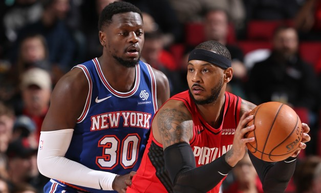 Knicks Face the Trail Blazers, Look to Extend Win Streak to Three