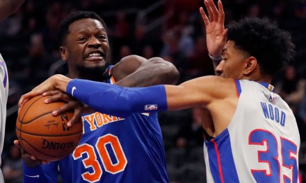 Knicks Officially on Fire, Take Down Pistons in Comeback Fashion