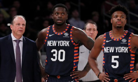 Shorthanded Knicks Visit Victor Oladipo, Pacers