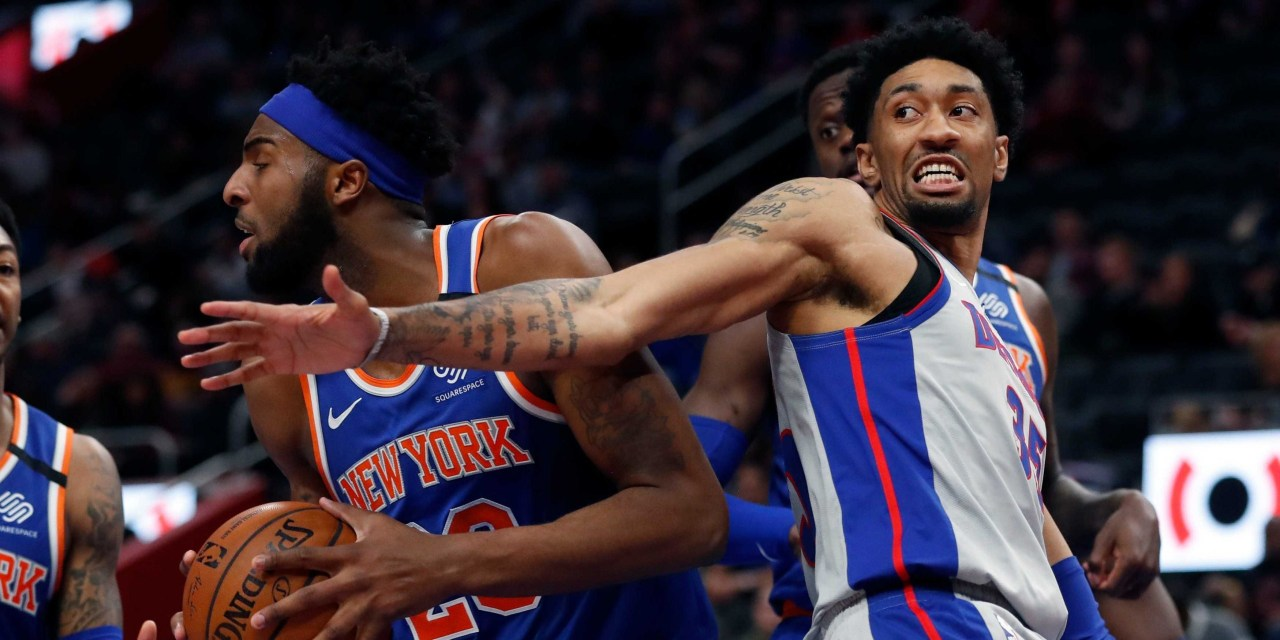Knicks Face the Pistons in Attempt to End Two-Game Skid