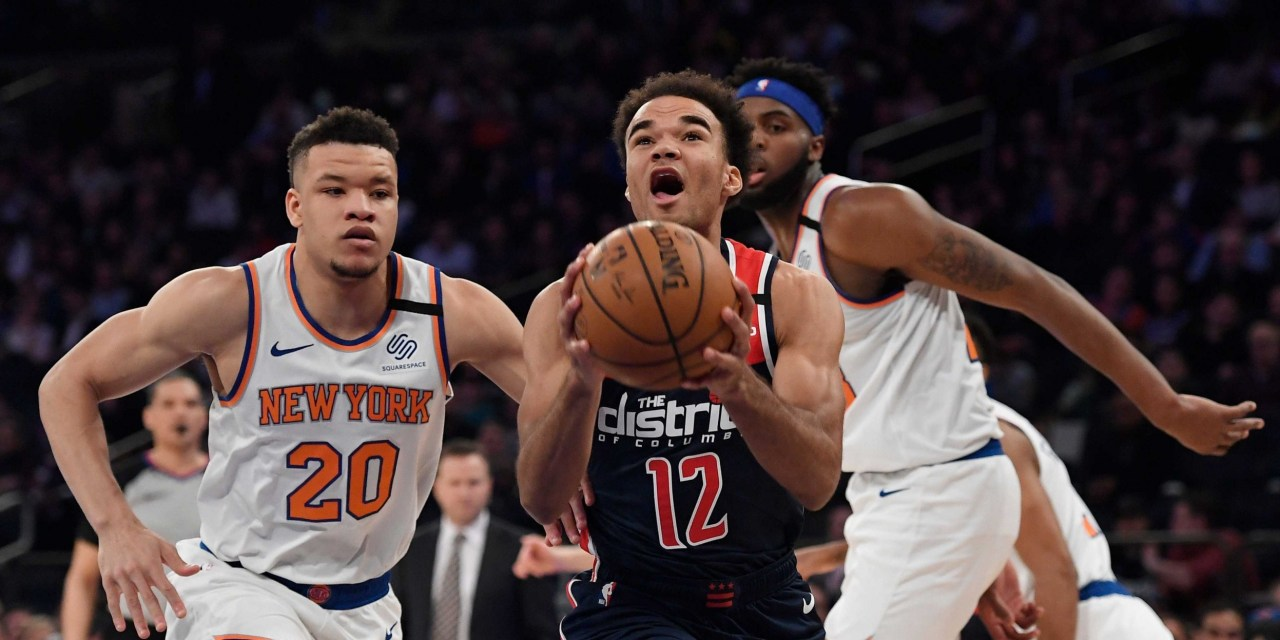 Knicks Head to Washington to Kick Off Three-Game Road Trip