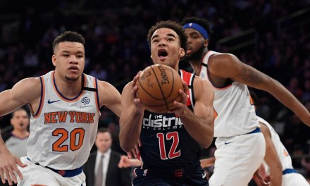 Knicks Head to Washington to Kick Off Three-Game Road Trip