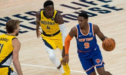 RJ Barrett Shines Bright for Knicks Despite Second-Half Meltdown Against Pacers