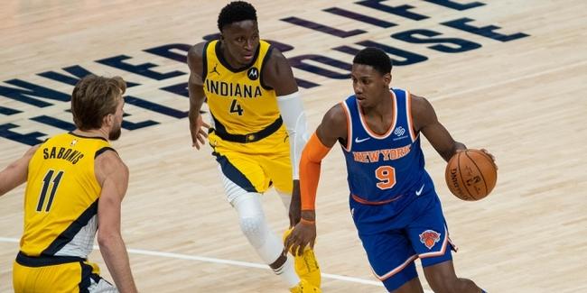 RJ Barrett Shines Bright for Knicks Despite Second-Half Meltdown Against Pacers