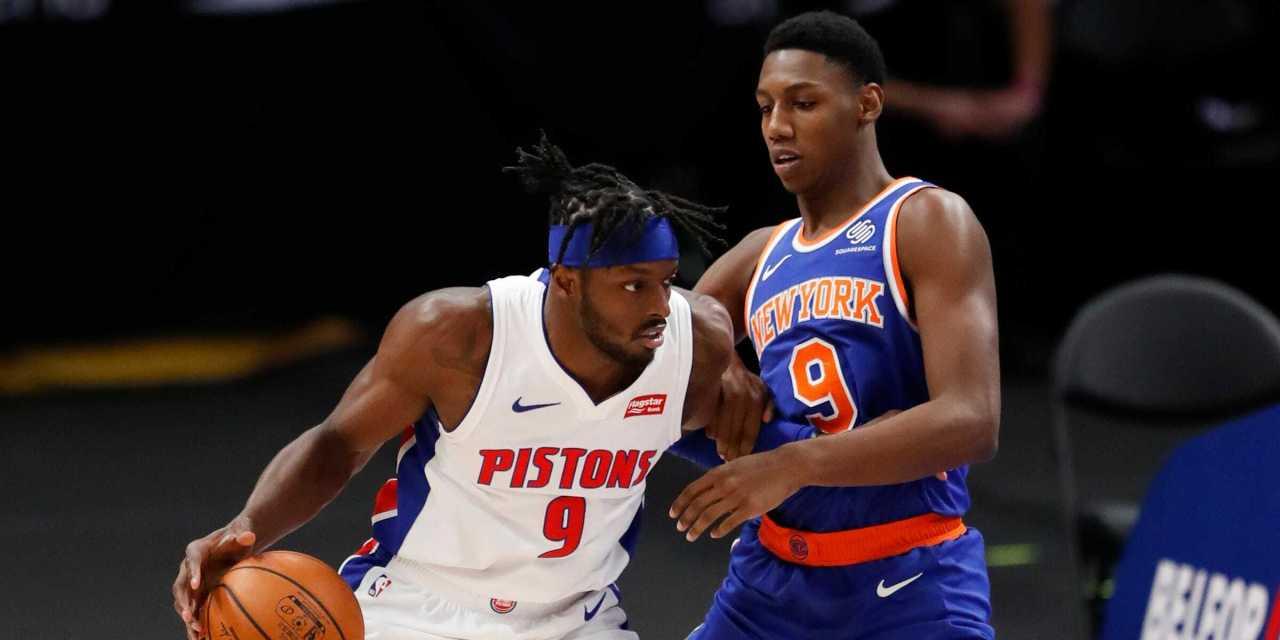 RJ Barrett Can't Lift Knicks in Preseason Loss to Pistons