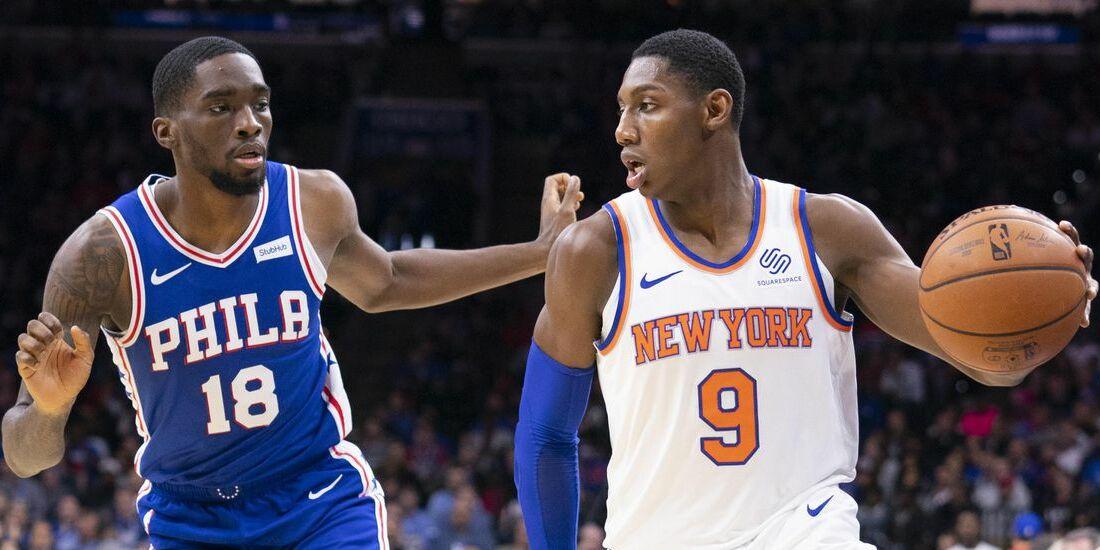 Knicks Host Sixers in Fan-less Home Opener