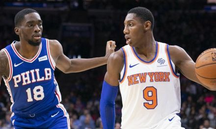 Knicks Host Sixers in Fan-less Home Opener