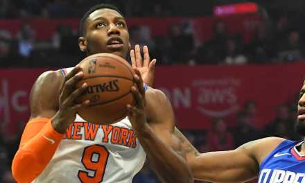 Knicks Battle Tenacious Clippers at Home in Matinee Event