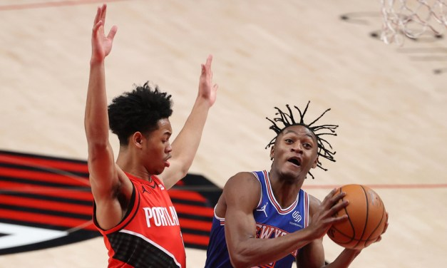 Immanuel Quickley's Rally Comes Up Short, Knicks Lose to Blazers
