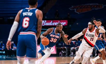 Defense Leads the Way Again as the Knicks Beat Blazers