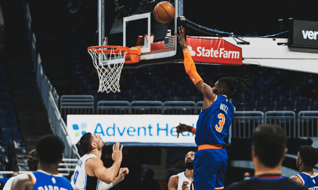 Shooting Woes and Second Unit Sink Happy-Times Knicks in Orlando