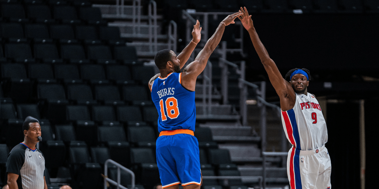 Knicks Seek Rare Over-.500 Record With Pistons Matchup on Tap