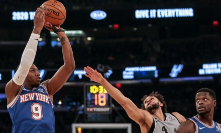 Knicks Look to Extend Winning Streak With Visit to San Antonio