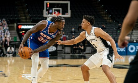 Knicks Slip Up on the Road Versus Spurs
