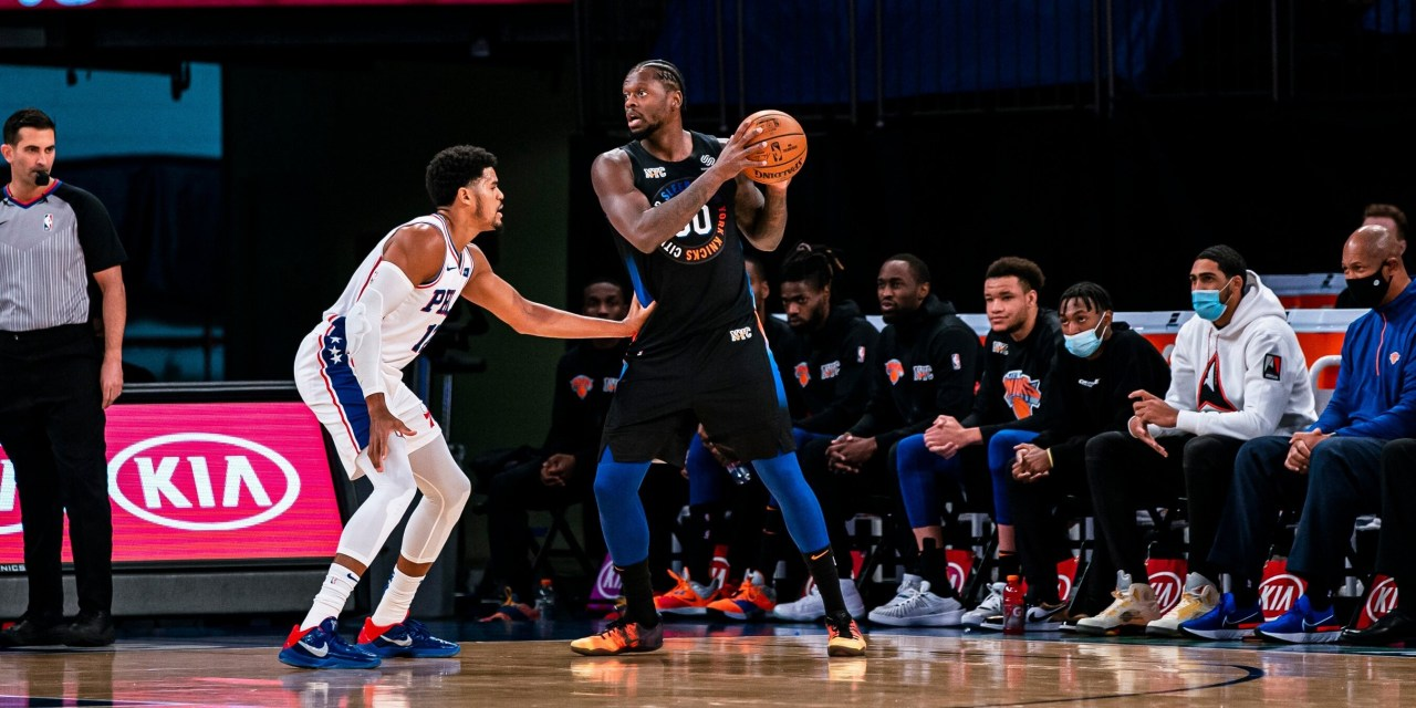 Knicks Back to the Grindstone With Embiid-Less Sixers Matchup