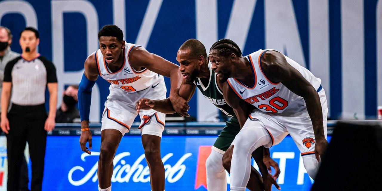 Soothed Knicks Kickstart Second Half With Bucks Rematch