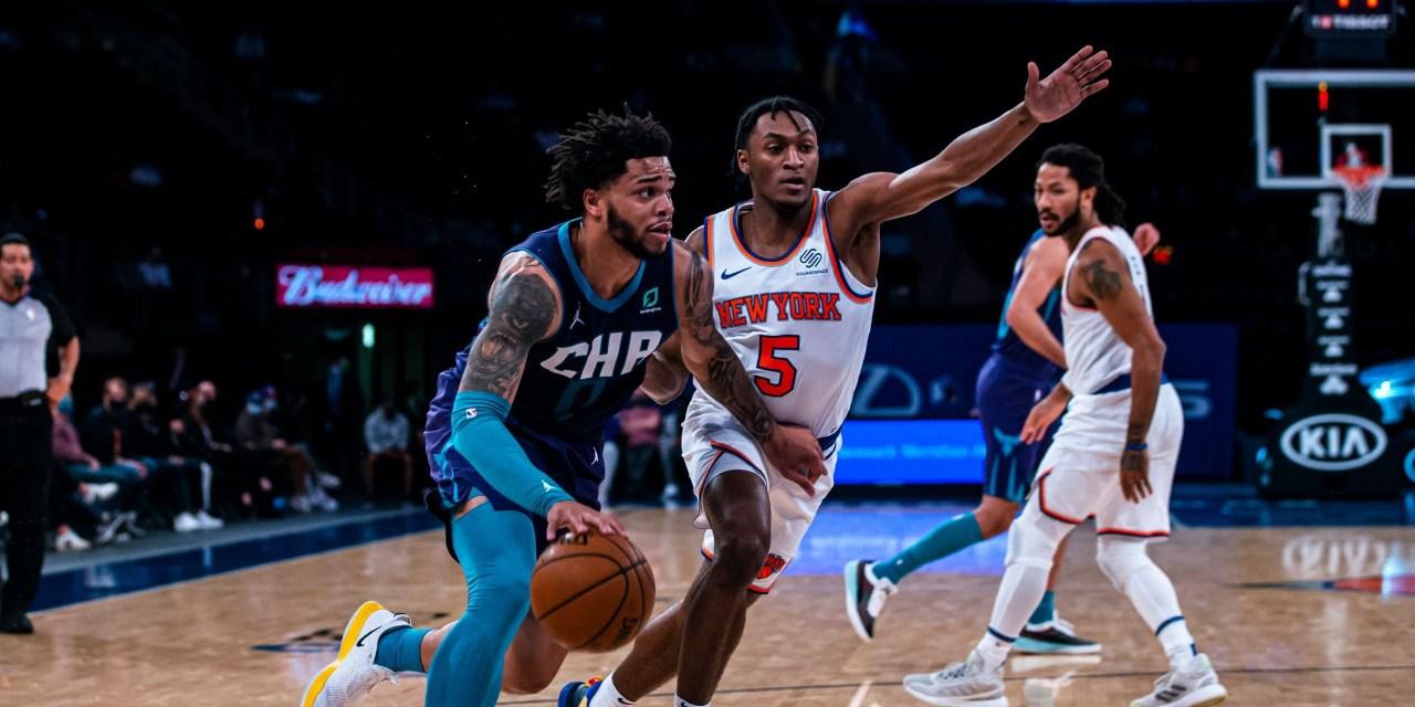 Streaking Seven: Knicks Take Down Hornets to Extend Winning Ways