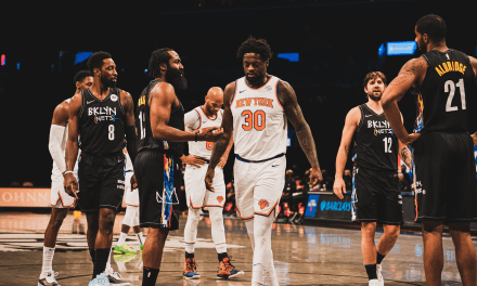 Kyrie Irving Prevails Nets Pass Knicks Without Harden