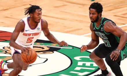 Knicks Visit Celtics Hoping to Repeat Blowout Magic