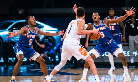 Suns Rip Away Winning Streak From Knicks' Hearts