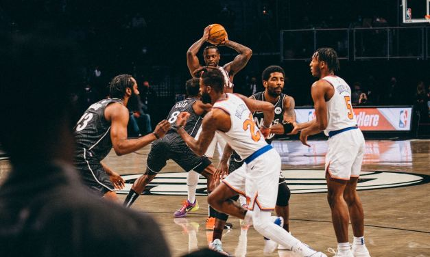 Knicks Battle Nets for Final Time in Regular Season
