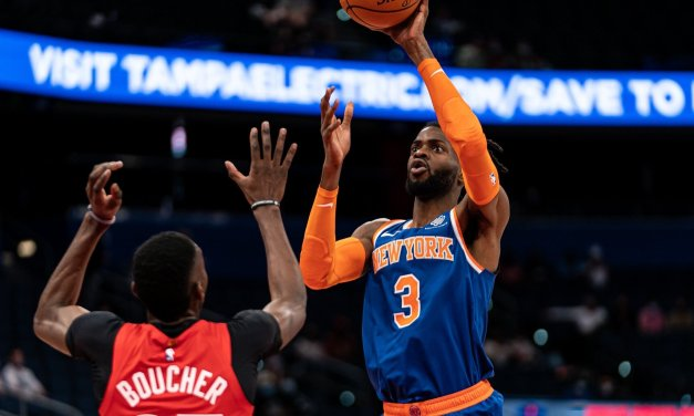Knicks Host Raptors at the Garden, Look to Start New Winning Streak