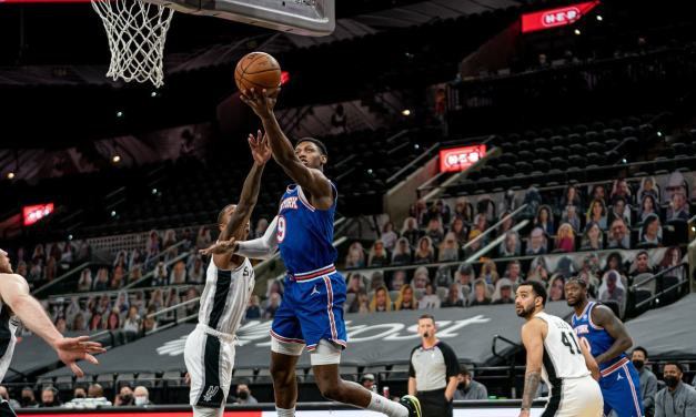Knicks Ready for Playoff Push With Spurs Matchup Back Home