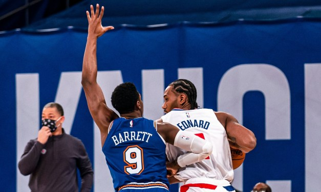 Knicks Look to End Losing Streak, Travel to L.A. to Face Kawhi Leonard, Clippers