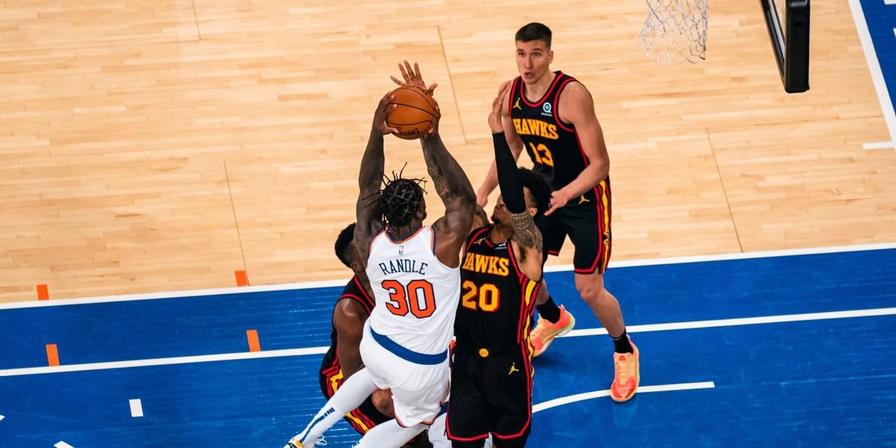 Randle, Knicks Look to Bounce Back in Game 2 vs. Hawks