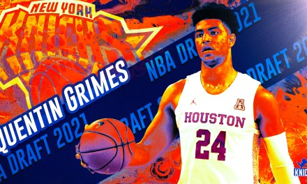 NBA Draft Reaction: The Knicks Call an Audible, But It Should Work Out