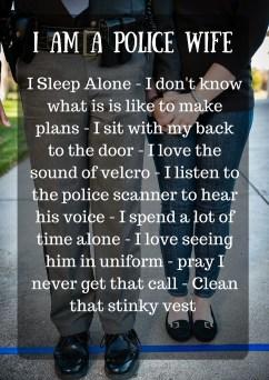 I Am A Police Wife
