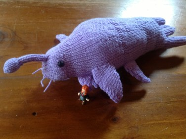 Star Whale Knitting Pattern