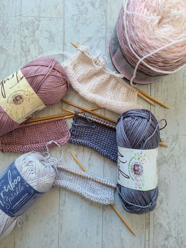 Bamboo, Blends, and New Yarn