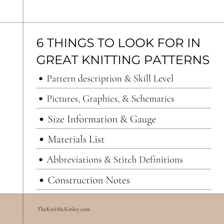 What To Look for When Picking the Perfect (for you) Pattern
