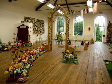The Knitted Garden Exhibition