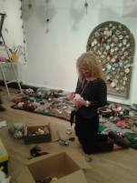 Setting up The Knitted Garden