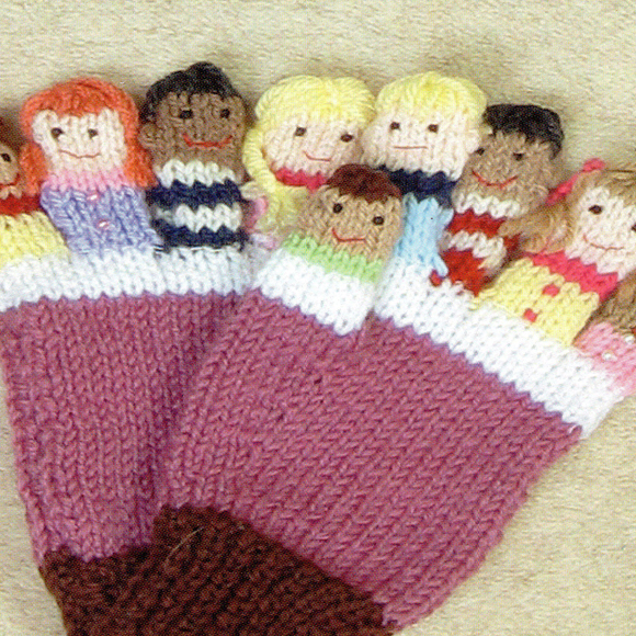 Counting Rhyme Finger Puppet Gloves