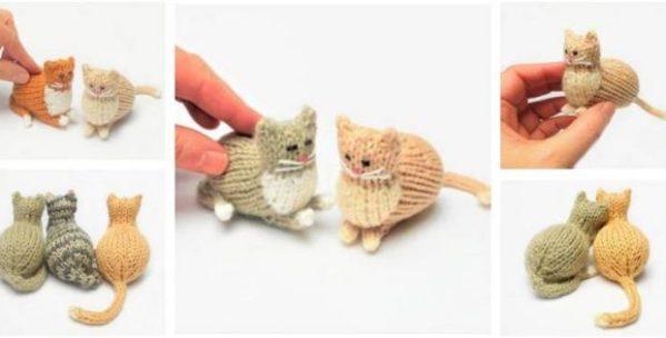 free cat knitting patterns # 9