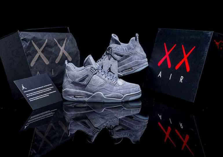 48065da3 KAWS x Air Jordan 4 Release Date Announced - The Knockturnal