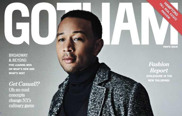 Gotham Magazine Cover Star John Legend Dishes on 'La La Land