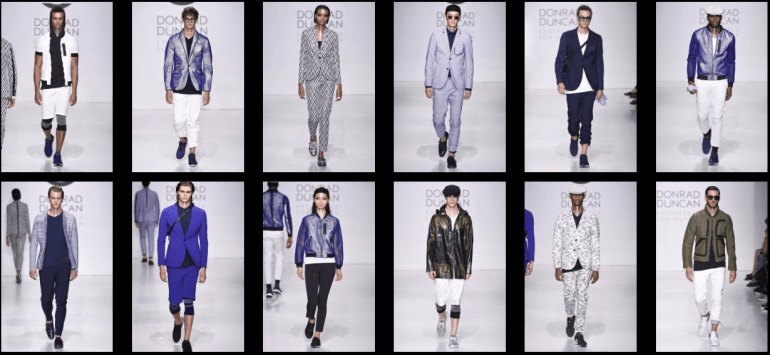 EFM Spring/Summer 2018, presented at NYFWM at Skylight Clarkson Square.