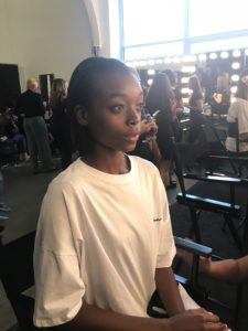 Backstage Beauty Report: Pamella Roland Spring 2017 - The