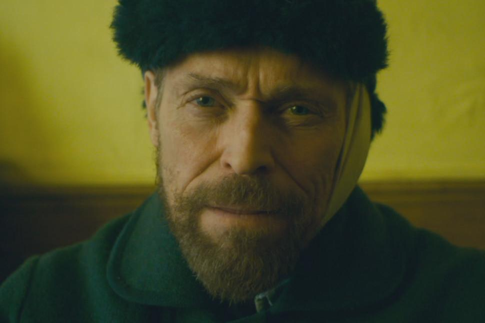 At Eternity's Gate, featuring Willem Dafoe as Van Gogh