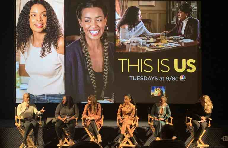 This Is Us' Cast Members Talk 'Bethany Clarke' At Set Visit - The