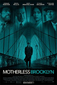 The poster for Motherless Brooklyn